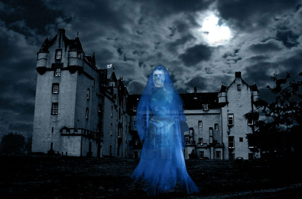 Fyvie Castle Ghost