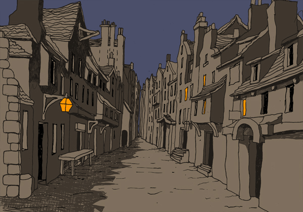 Haunted Edinburgh Royal Mile