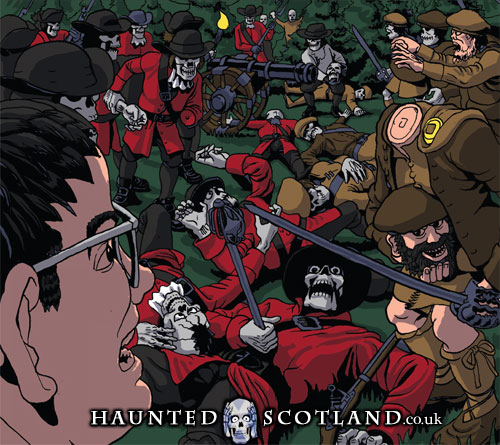 Ghostly Battle at Killiecrankie